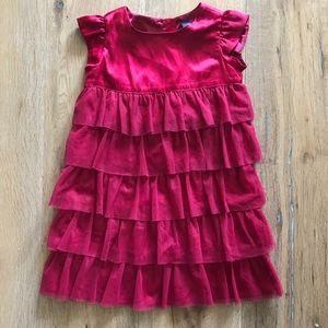 Gap Ruffle Fancy Dress